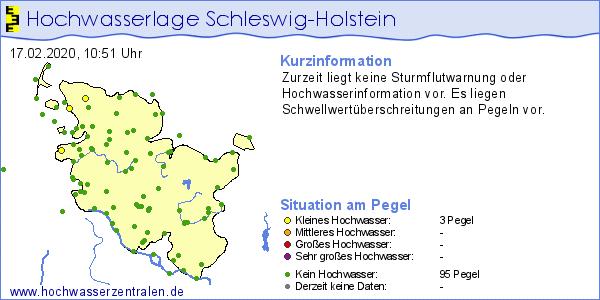 #Pegel #SchleswigHolstein: Aktuelle #Hochwasser-Info liegt vor! Mehr unter https://www.umweltdaten.landsh.de/public/hsi/pic.twitter.com/WrtIg04Owz