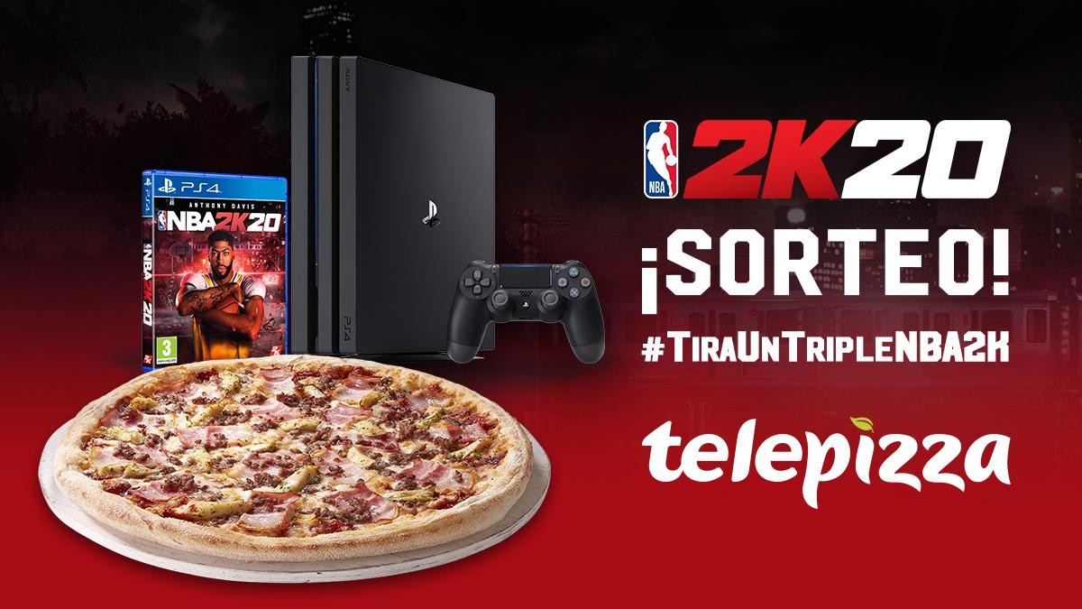 @telepizza_es's photo on #tírauntriplenba2k