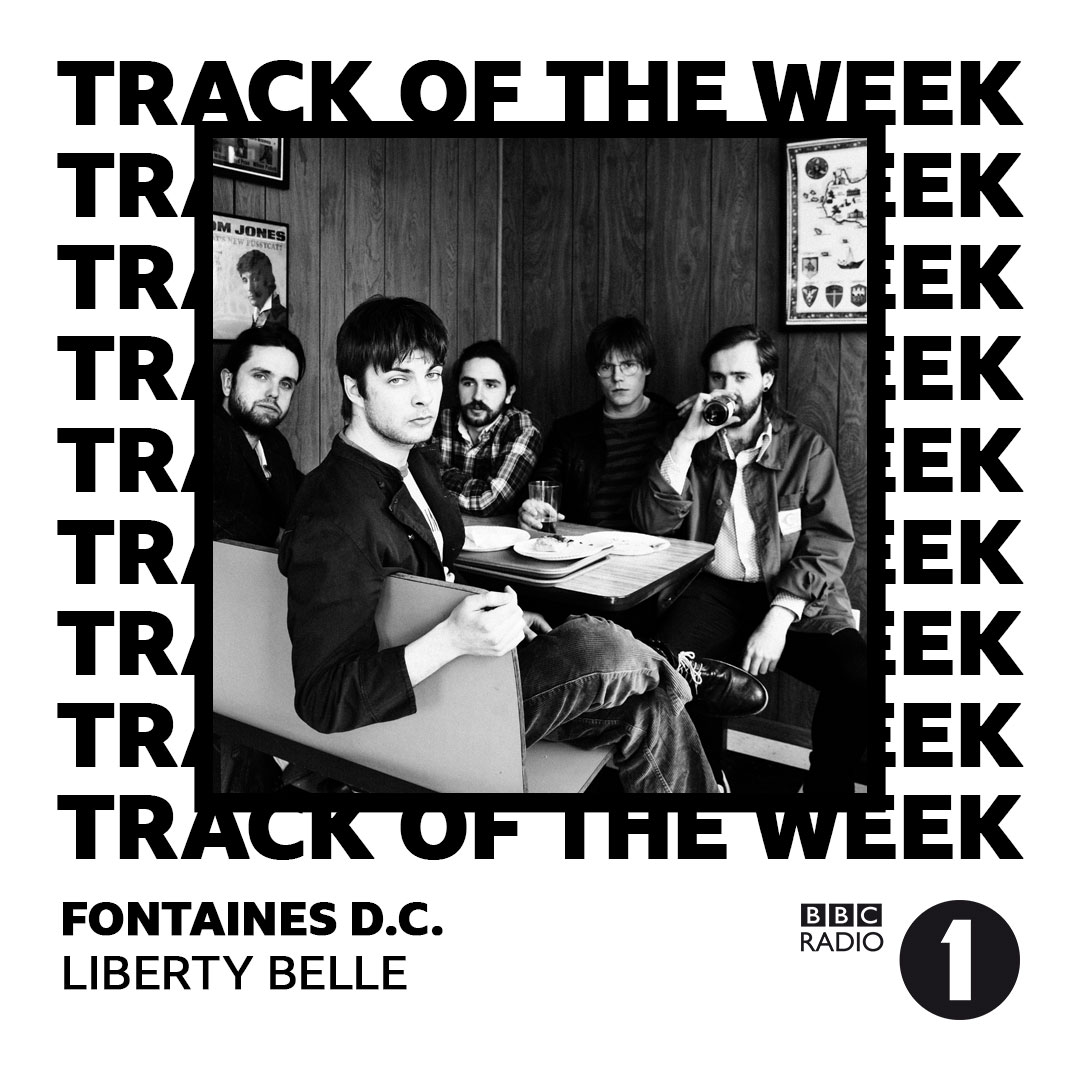 'Liberty Belle' is @gregjames 'Track Of The Week' on @BBCR1