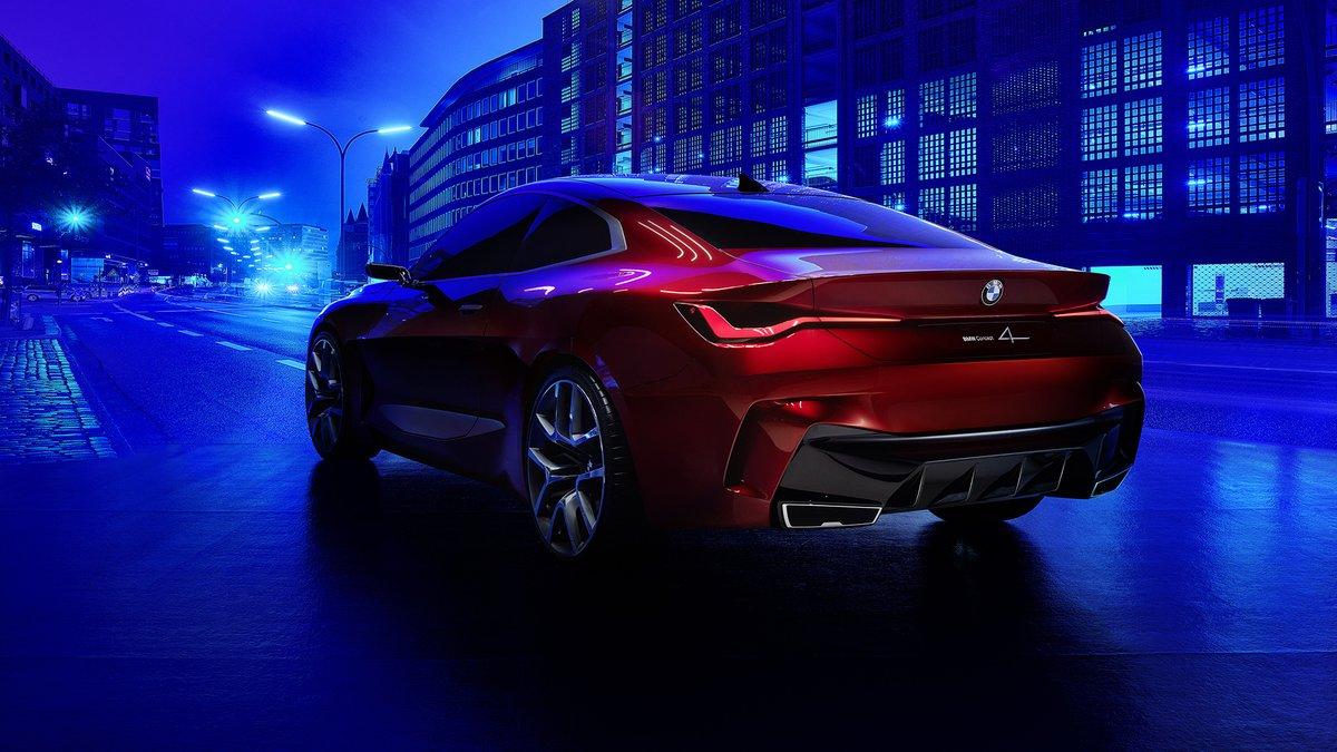 Ένας φουτουριστικός συνδυασμός χρωμάτων και σχεδιαστικών γραμμών. Η #BMW Concept 4. #Concept4