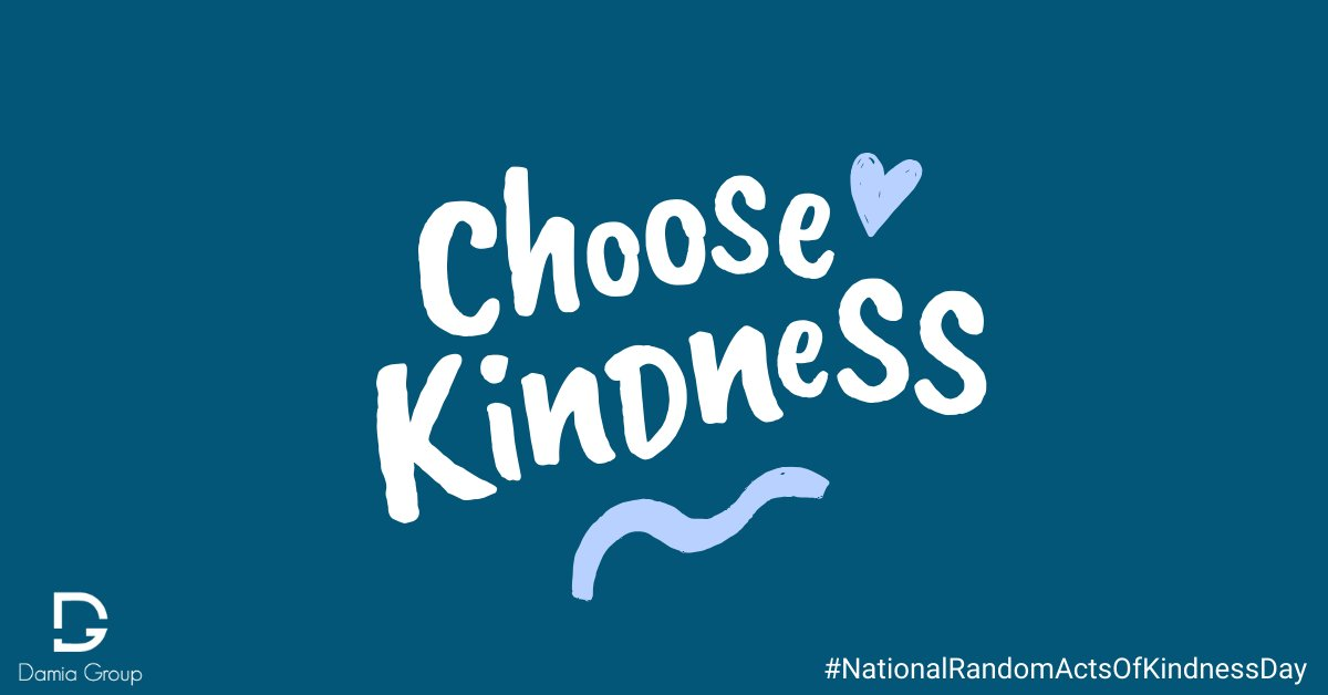 In a world where you can be anything, be kind ✨💞 #nationalrandomactsofkindnessday #damiagroup #kindness #recruitment #love #raok #actsofkindness #spreadkindness #bekind