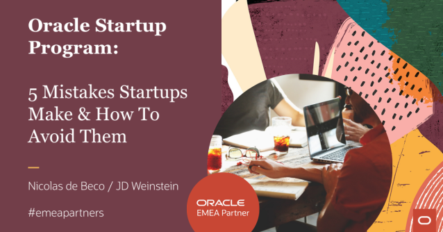 Read this @Forbes article & discover the Top 5 Mistakes Startups make that lead to failure. Those that succeed, steer clear of these common pitfalls - as shared by experts from the @Oracle Startup Program: #emeapartners @Oracleemeaps @fjtorres http://bit.ly/37APJBb