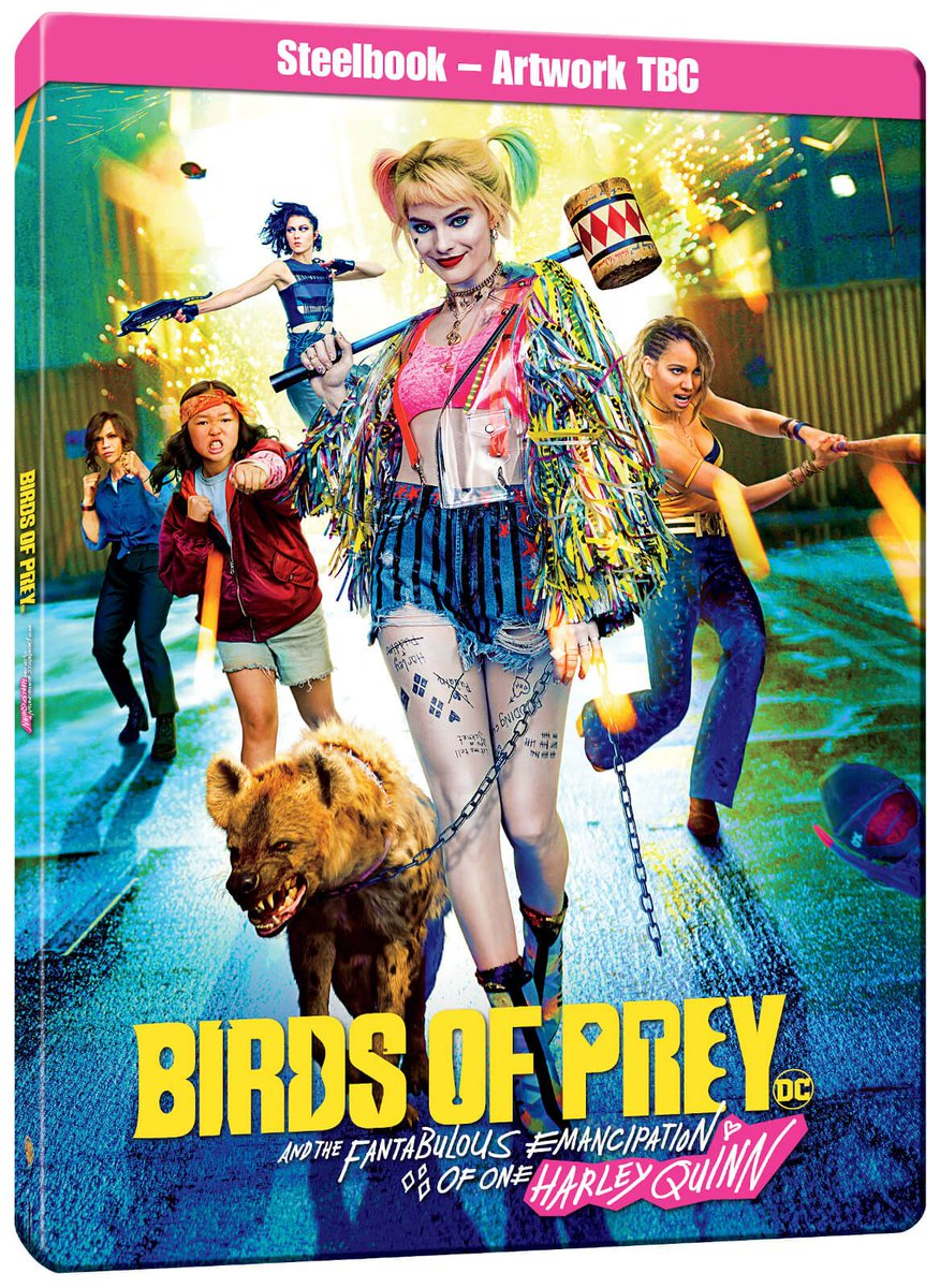 Ultra Hd Blu Ray On Twitter And Here S The Preliminary Design For A Uk Steelbook Edition Of Said Harley Quinn Birds Of Prey Ultra Hd Blu Ray Https T Co 2stvgwbcy7 Https T Co Bb4bz1a1gv