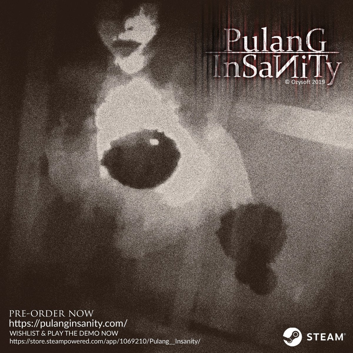WISHLIST & PLAY THE DEMO NOW https://store.steampowered.com/app/1069210/Pulang__Insanity/ …  Website : http://pulanginsanity.com/   #EnterInsanity #ComingSoon #Games #Steam #Indonesia #horror #SurvivalHorror #PsychologicalHorror #pulanginsanity #NewDemoUpdatepic.twitter.com/g6U0AAg3T9