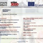 Image for the Tweet beginning: 🇪🇺 Erasmus+ Day al Dipartimento di