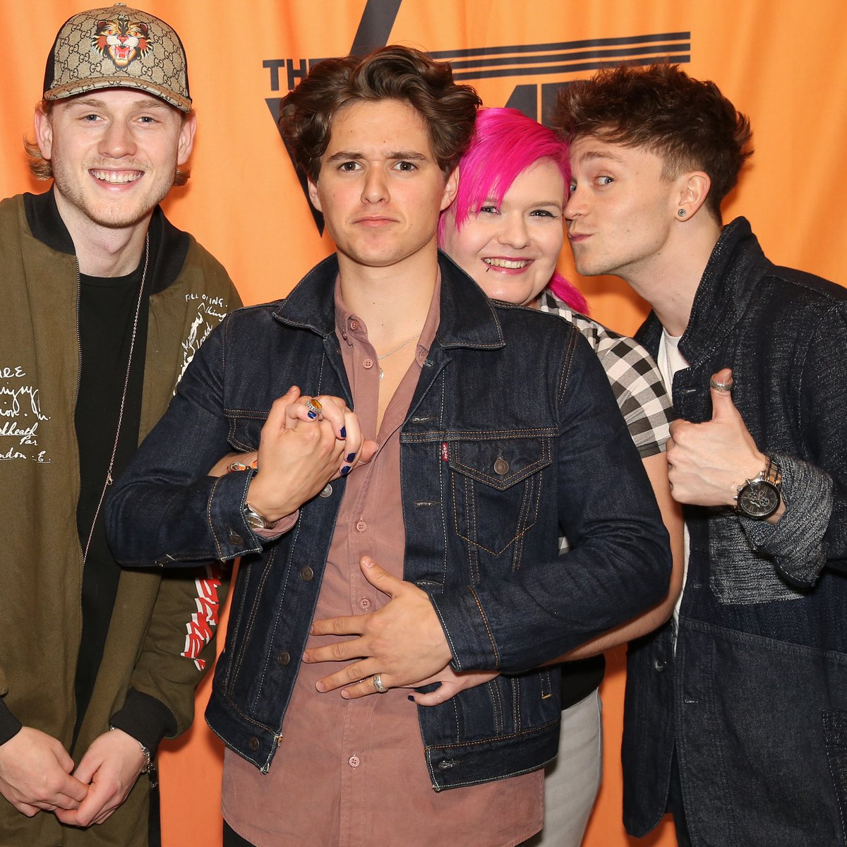 A moment in time when the #threesome was the #besttime of my life!  @TheVampsBrad @TheVampsTristan @TheVampsCon @TheVampsJames @TheVampsband  http://www.instagram.com/harvampstarette  #thevamps #thevampsband #tristanevans #jamesmcvey #connorball #bradleywillsimpson #thankyou #abs #touchyfeelypic.twitter.com/EvEFhdxm3b