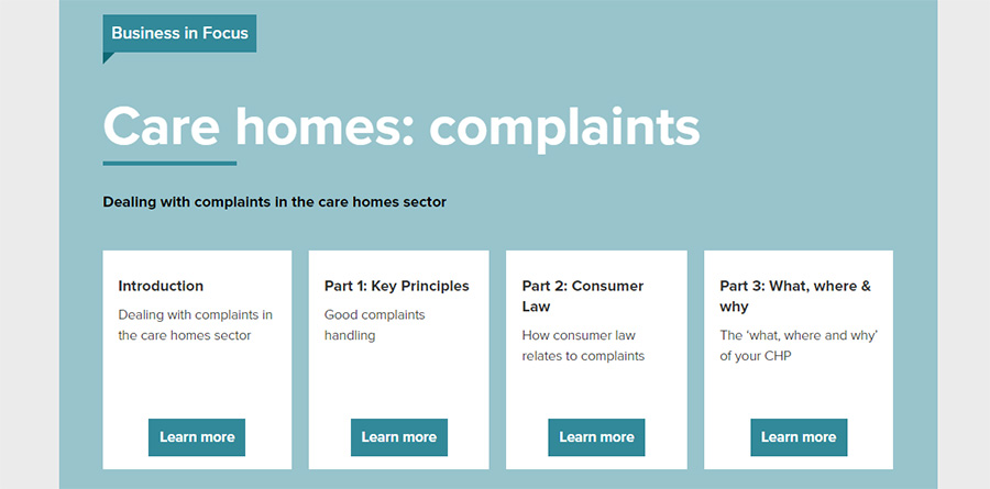 test Twitter Media - The @CTSI_UK has launched new clear and informative complaints guidebook for the UK care homes industry that assists care home operators in understanding consumer law and implementing a complaints process https://t.co/sqdEDwjSVo https://t.co/nzFrSThZEi