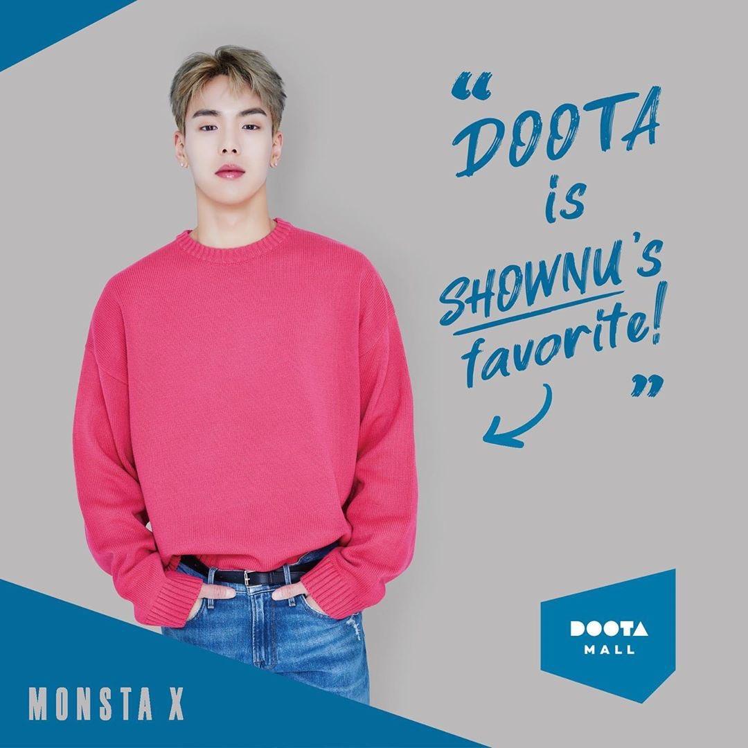 DOOTA 広告写真 #MONSTAX ショヌ ミニョク  キヒョン ヒョンウォン