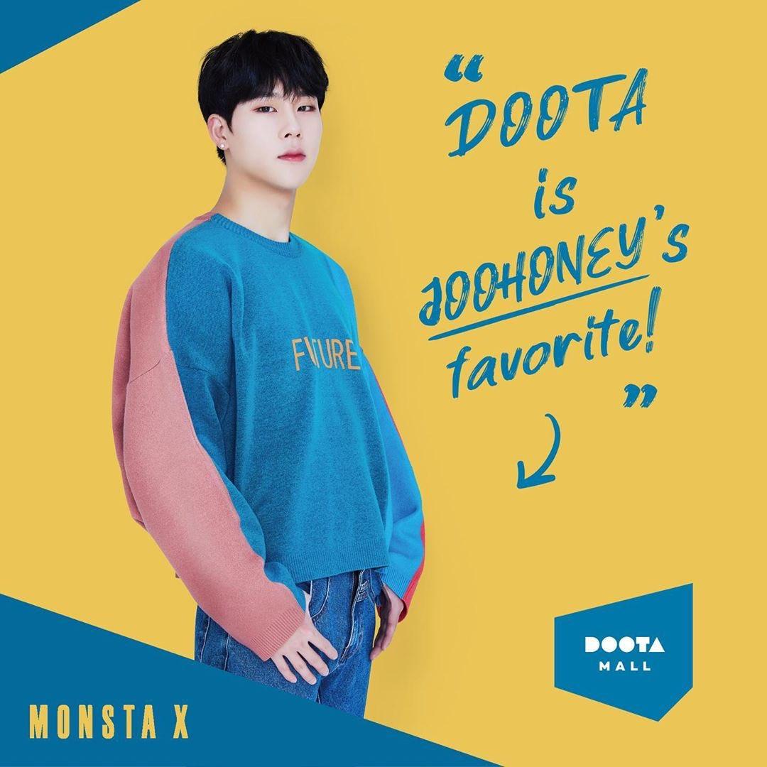 DOOTA 広告写真 #MONSTAX ジュホン チャンギュン