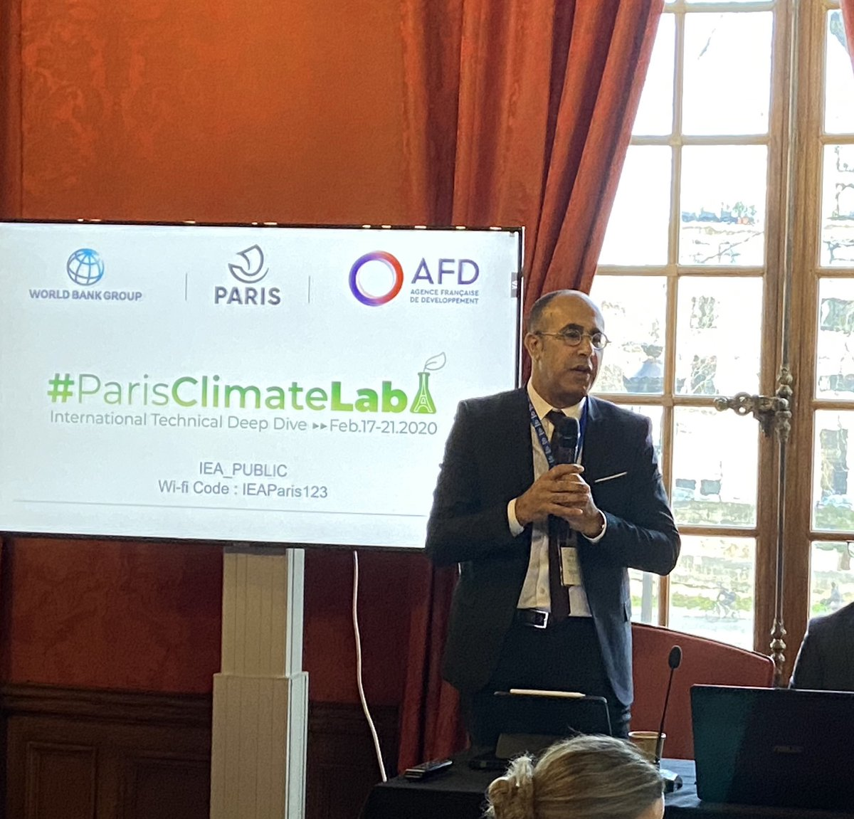 @SamehNWahba Challenges of #ClimateChange require shared action and solutions; cities can learn from each other @Paris @WBG_Cities #ParisClimateLab