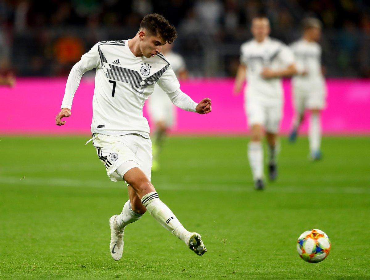 🇩🇪 Kai Havertz = Germany's next great talent?  Last 6 club games = 5⃣ wins. 3⃣ goals.  #EURO2020