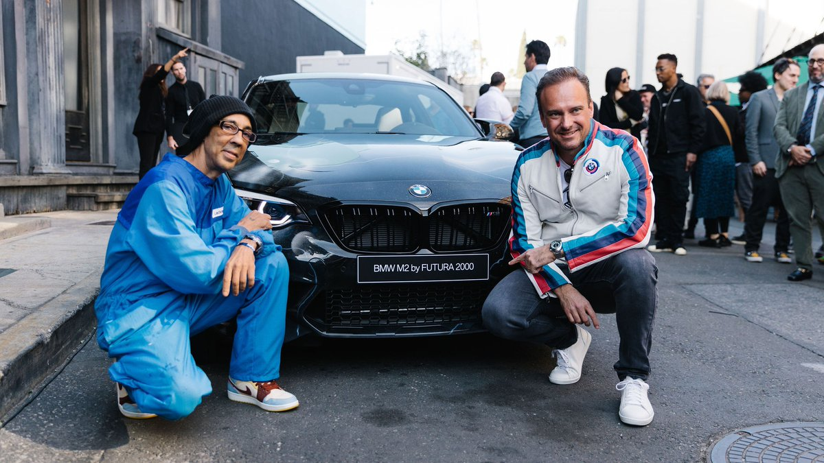 Look who's here! It's a young and wild @BMW #M2 Competition, with an exclusive and rebellious touch from contemporary artist #FUTURA2000.   Read more about this limited edition #BMWM: https://b.mw/jwX0t  #TheM2 #BMWGroup http://b.mw/disclaimer_M2C