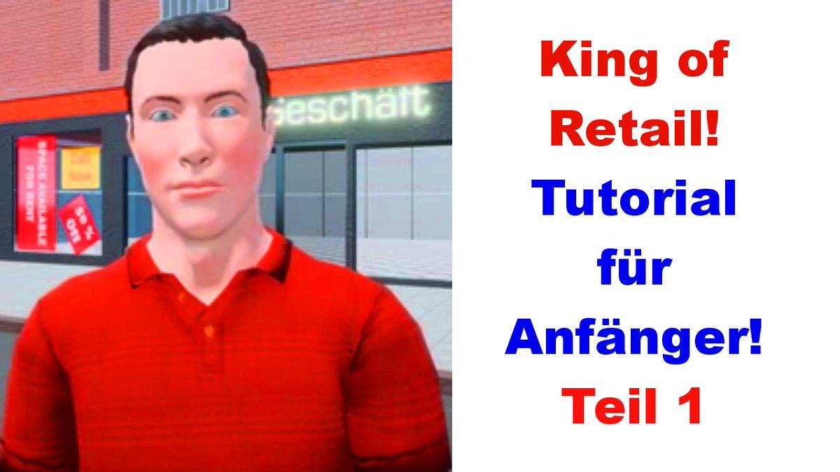 Jetzt online: #Tutorial | Wie spielt man King of Retail ❓ Konzern Modus | Grundlagen für Anfänger | Teil 1 #kingofretail #letsplay #konzernmodus #GermanMediaRT #gaming #SmallYouTuberArmy  https://youtu.be/EJeRcVf4SDY