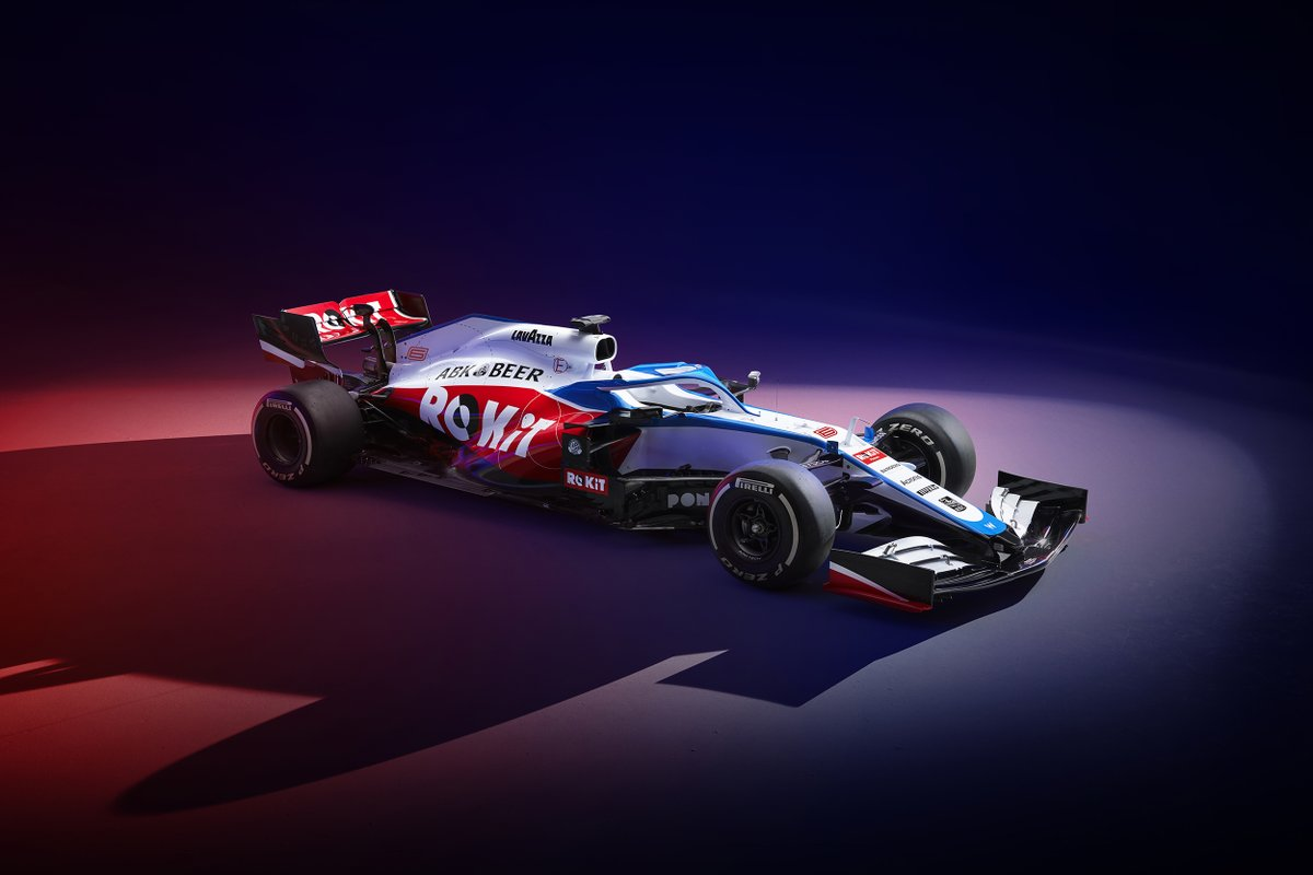 It's finally here! The ROKiT Williams Racing FW43 has been unveiled and is ready to hit the racetrack! Head to our Instagram story for a closer look at the new livery! #Formula1 #ROKiTPhonesUK #ROKiTWilliamsRacing