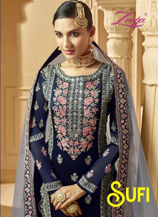 Zeeya Sufi Vol 1 Sharara Collection 1001 To 1004 Series Full Catalogue And Singles Available @ Wholesale Rates For Any Query Or To Order Call / Whatsapp https://wa.me/919624867898  FB : http://bit.ly/32Xq977pic.twitter.com/evDeQaFurh