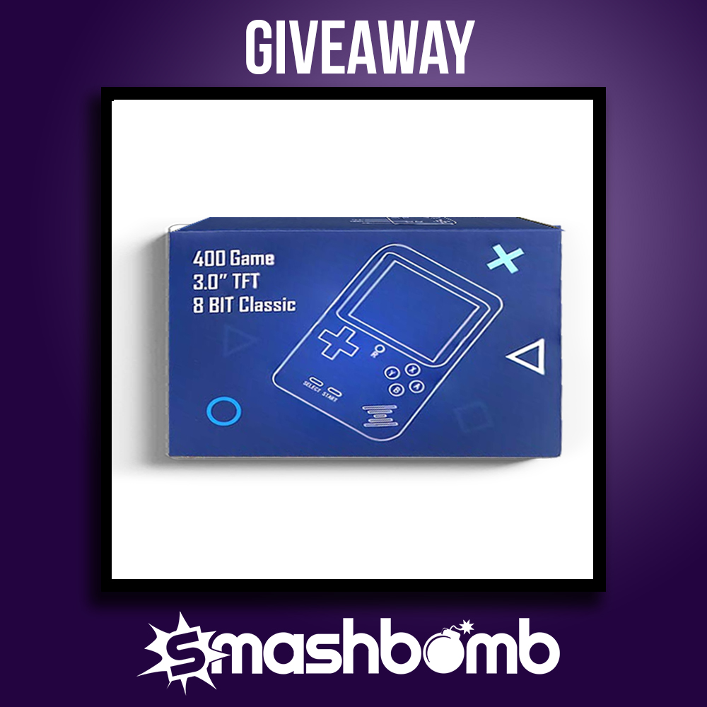 IT'S YOUR LAST WEEK TO #ENTER AND #WIN THE #GamesConsole Mini #FREE #GIVEAWAY on Smashbomb!  https://smashbomb.com/giveaway/view/tech-retro-mini-games-console…pic.twitter.com/78Gb3PYdAq