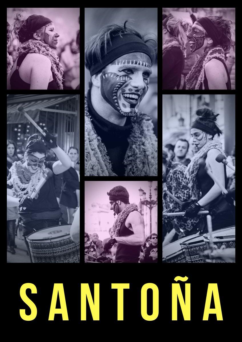 FALTAN  DIAS  . SABADO DE CARNAVAL EN SANTOÑA  . TE ESPERAMOS  . #TribukPercusion #carnival #cantabria #cantabriainfinita #santoña #love #live #tribal #music #makeup #picoftheday #design #Art #StreetArt #friends #enjoy #life #dance #percussion pic.twitter.com/0zI0Js8Vz3