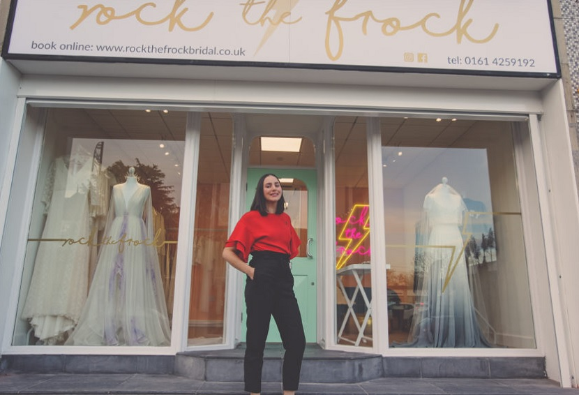 With #ValentinesDay2020 been & gone, some of you may now need to look for a #wedding dress.  Why not let an Old Stop help you!  Helen Hargraves (OS 2007) runs Rock the Frock Cheshire (@RockTheFrockWed) & would be delighted to see you.  Visit .  #sgsalumni