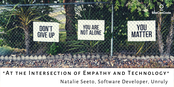 Technology affects our mood & mental health at home and at work. Natalie Seeto #SoftwareDeveloper @unrulyco shares advice on how to initiate #mentalhealth conversations at work & how you can help others dealing with issues!http://ow.ly/mTWq50ylrL3#techblog #womenintech #techlife