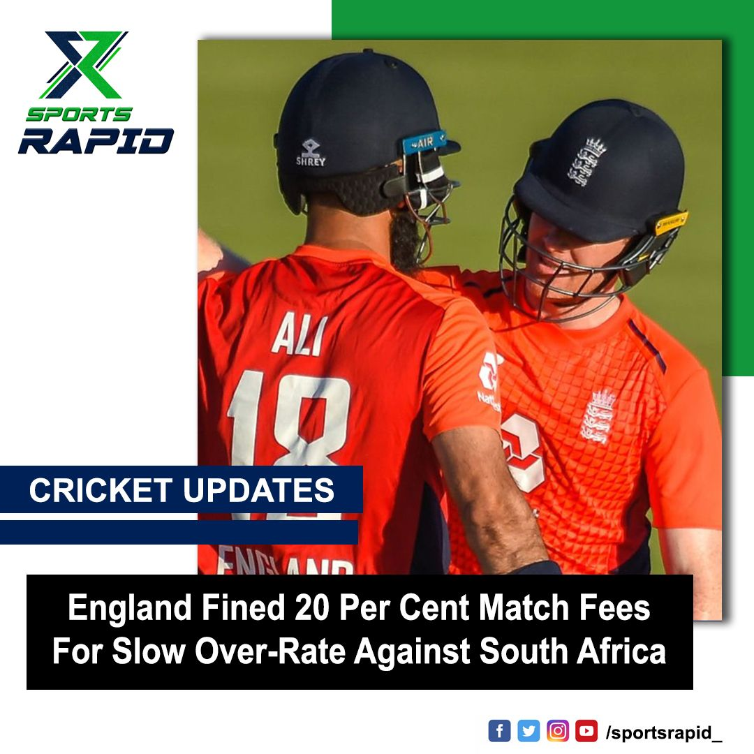 England follows India's footsteps for getting fined for slow over-rate.#englandcricket #cricket #icc #england #joeroot #cricketaustralia #ipl #viratkohli #benstokes #jofraarcher #worldcup #josbuttler #eoinmorgan