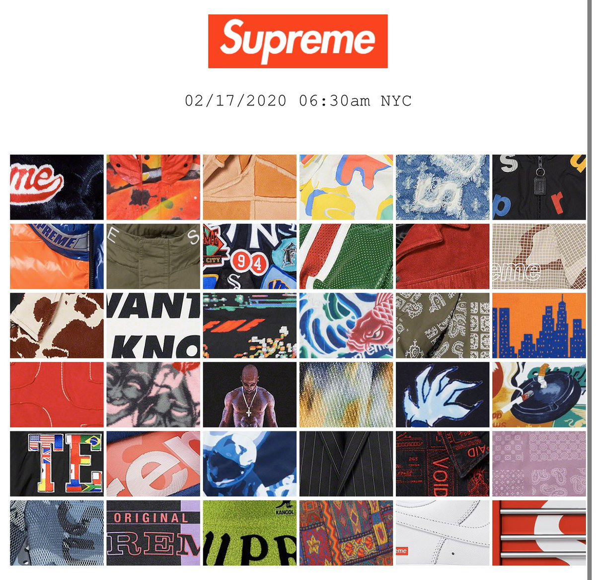 The Supreme Spring/Summer Preview + Lookbook Is Now Live!  Preview- …  LookBook-