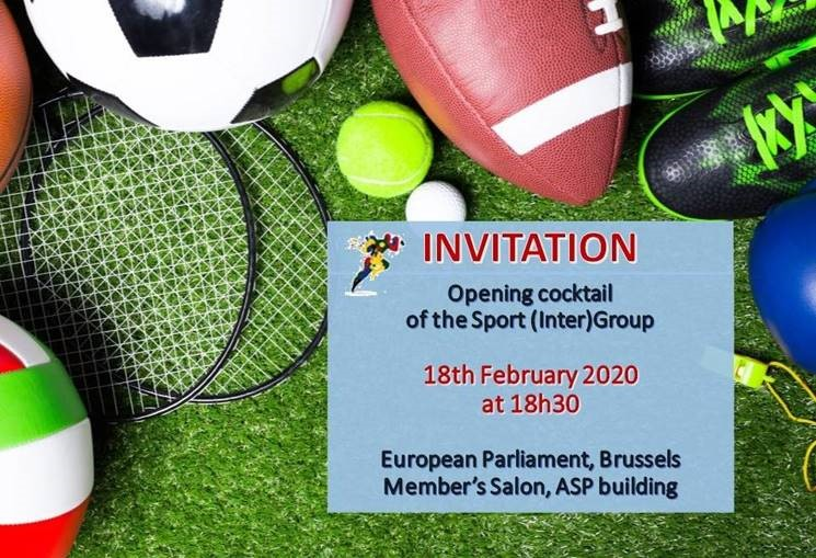 Welcome at the first event of the new Sports (inter) Group this tuesday at the European Parliament  #Sport #SportsGrouppic.twitter.com/OJoEdroR4T