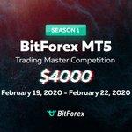 Image for the Tweet beginning: 😃📢Great news! BitForex MT5 Trading