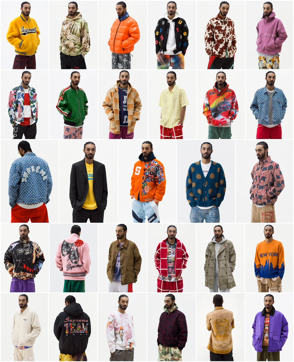 Supreme Spring/Summer 2020 is now Live. What are your thoughts on this seasons Lookbook/Preview?