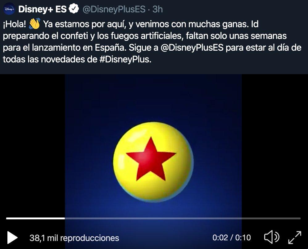 #DisneyPlus Foto
