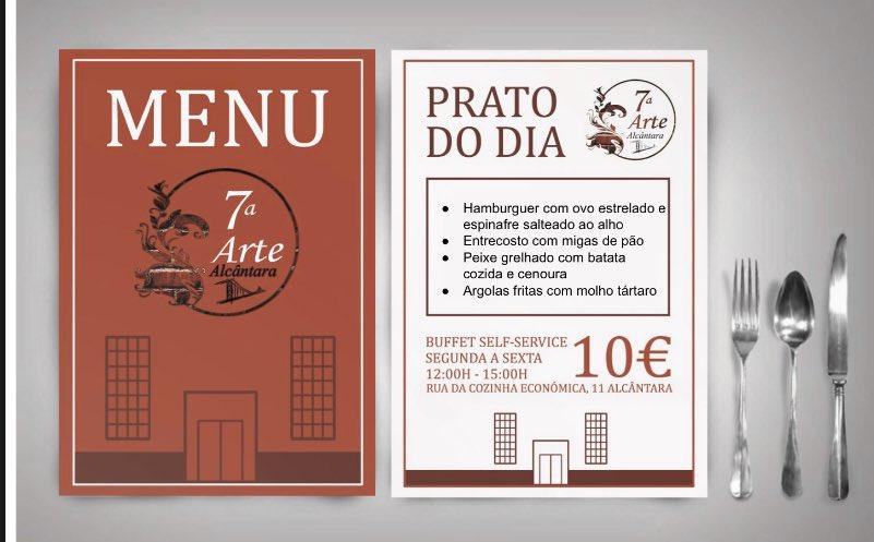 As segundas são melhores na nossa companhia!   Até já    Reservas : 963488059 R. Cozinha Económica 11, 1300-149 Lisboa  #setimaarte #alcantara #buffet #food #ttasty #delicious #canapes #bistro #menu #daily #restaurante #restaurant #lunch #festa #party #night #weekendpic.twitter.com/EExu93eRrn