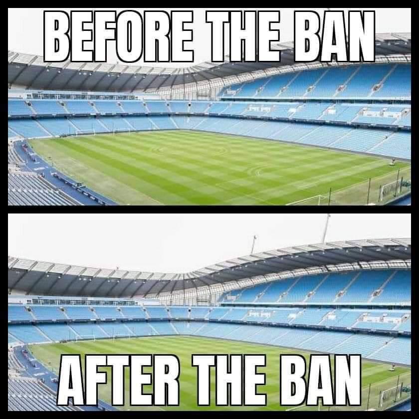 The council stadium Mancherster...
