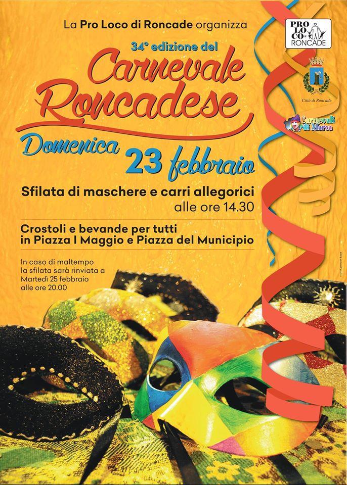 Il #Carnevale Roncadese si avvicina: domenica 23 f...