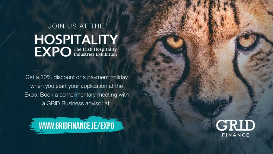 We'll be at the Hospitality Expo next 25th and 26th February and we would love to see you there for a complimentary business advice session!  Book a meeting with a GRID Business advisor at https://t.co/tfUrYoC3lO  #Hospitality #Expo2020 https://t.co/CzFzf5sgMr