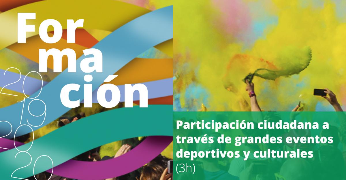 **GRATUITA! Próxima #boluntaFormación PARTICIPACIÓN CUIDADANA A TRAVÉS DE GRANDES EVENTOS DEPORTIVOS Y CULTURALES Facilita: Ramón Bigordà Dalmau, @EURO2020  Fecha: 27 febrero. http://ow.ly/f2Zz50yo6Ox #ParticipaciónCuidadana #EventosDeportivos pic.twitter.com/RMNw9w5R8H