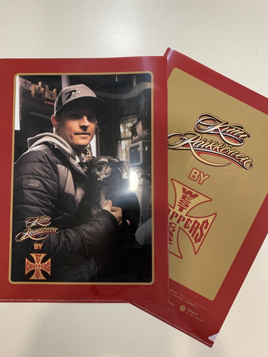 KIMI by West Coast Choppers商品を購入特典❗️ #ライコネン 限定A4クリアファイルをプレゼント🎁✨  https://www.euro-sports.jp/f1/result.html?res_f=0&wteam_id=&wdriver_id=3… #f1jp #kimi7
