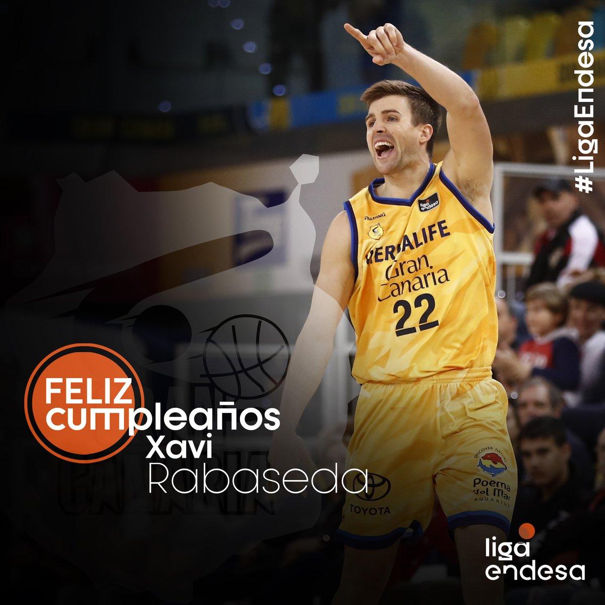 ¡Feliz cumpleaños, @xavirabaseda22! #LigaEndesa