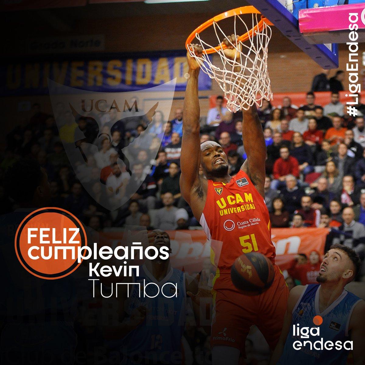 ¡Feliz cumpleaños, Kevin Tumba! #LigaEndesa