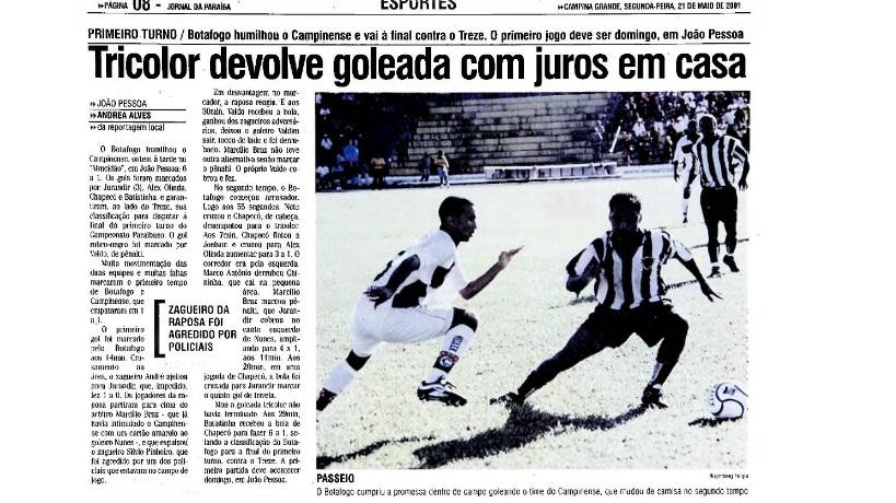 Botafogo 6x1 Campinense pela semifinal do Campeonato Paraíbano 2001 https://baudobelo.blogspot.com/2015/09/botafogo-pb-6x1-campinense-campeonato_28.html…pic.twitter.com/mvM6nt7mtq