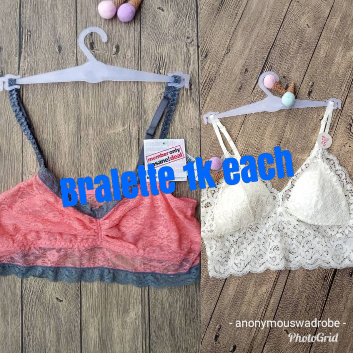 I sell quality lingeries, pants, bra, nightwears, gymwears, bodysuits, swimsuit all at affordable prices. pic.twitter.com/qlwaFLE1BW