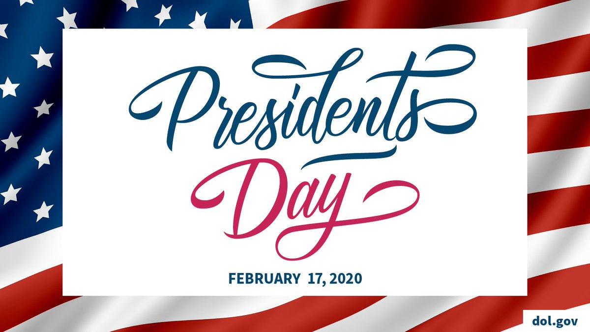Happy #PresidentsDay!
