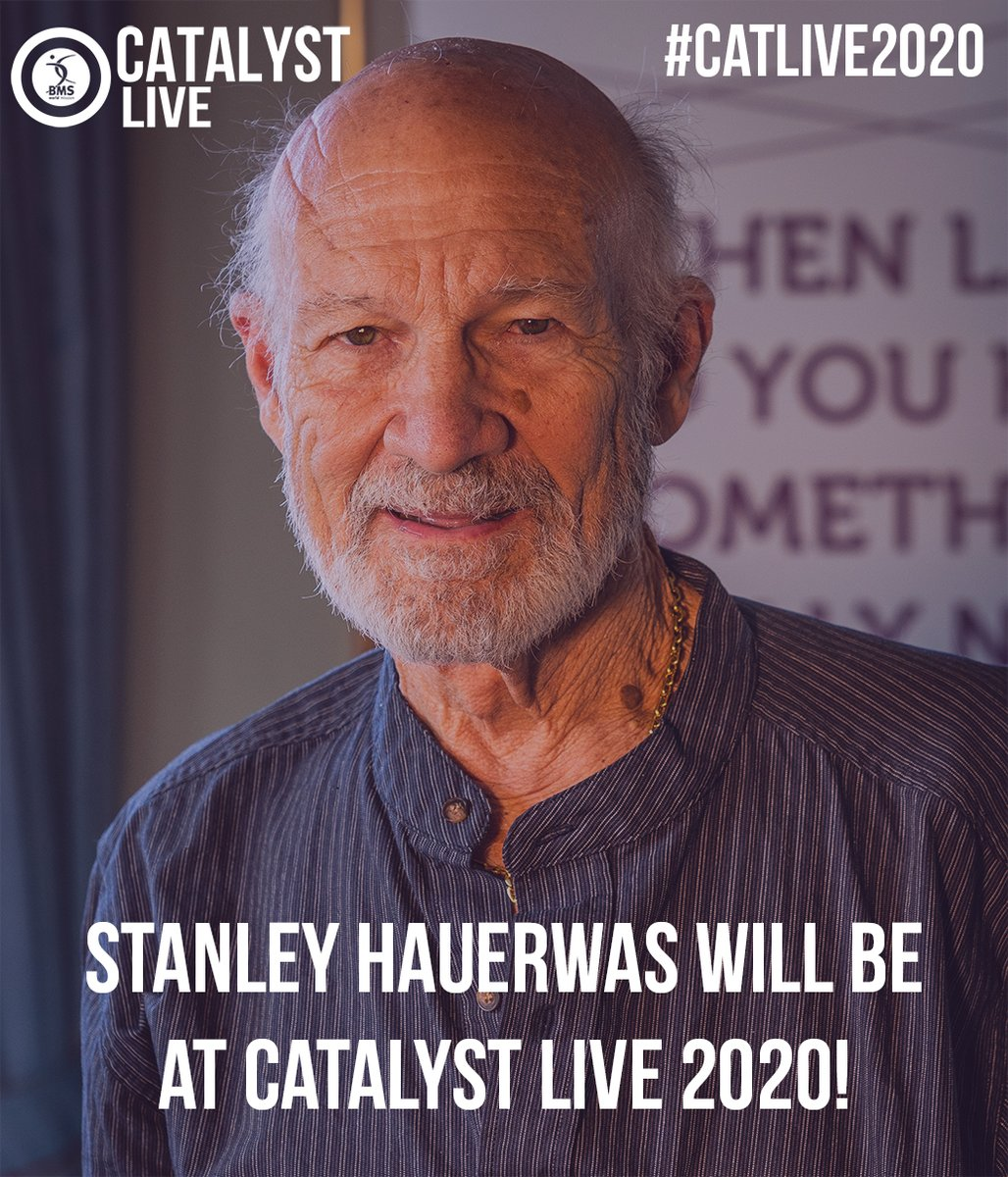test Twitter Media - ✨ Get excited about Catalyst Live!! ✨Can you believe we're holding our FIFTH Catalyst Live Event in October? Or that STANLEY HAUERWAS is going to be there??If you're as excited as we are, head to https://t.co/0tE3EuUamf to get your tickets today!#CatLive2020 #CatalystFIVE https://t.co/ATodJSoKXv