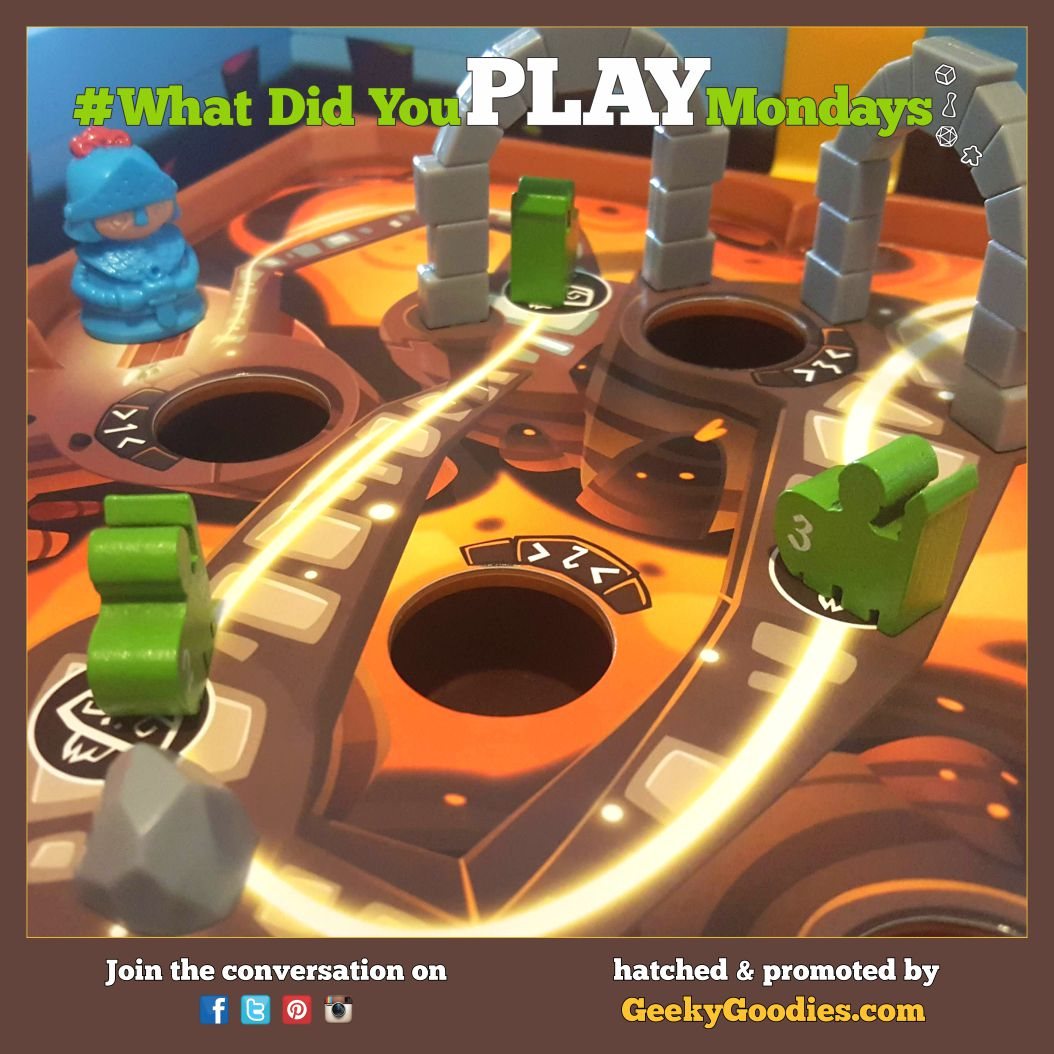 What Board Games did you play this weekend and the previous week? Please share your game plays using #WhatDidYouPlayMondays  Board Game in photo: Slide Quest  #BoardGames #Board #Game #TabletopGames #BoardGameAddict #PlayGames #Euros #RPGs #PlayMoreGames #GeekyGoodiespic.twitter.com/YSDhT07xp9