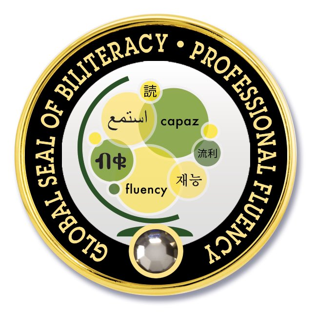 """Global Seal of Biliteracy on Twitter: """"If you're bilingual, why not test to  discover your level of Fluency and earn your own Seal of Biliteracy? Global  Seal offers 3 certification levels in"""
