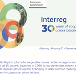 Over the past 30 years, thanks to numerous projects supported by the EU, Interreg has brought the more than 170 million Europeans living in border regions closer together, improved their lives, and created new opportunities for cooperation https://t.co/WVYz4vJb1j  #EUinmyRegion
