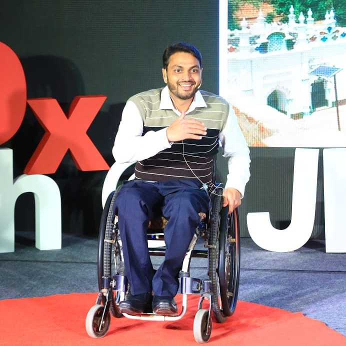 Remember there is beauty in disability.  #shamsaalam #becauseweexist  #peace #wheelchair #paraswimmer #Chennai  #Smile  #tedxspeaker #redcarpet #circle #life #disability #patnabeats #MondayMotivation @TEDxpic.twitter.com/OSrKQyYMvh