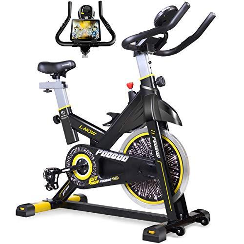 pooboo Indoor Cycling Bike, Belt Drive Indoor Exercise Bike,Stationary Bike LCD Display for Home Cardio Workout Bike Training - pic.twitter.com/C3c0u0neG2