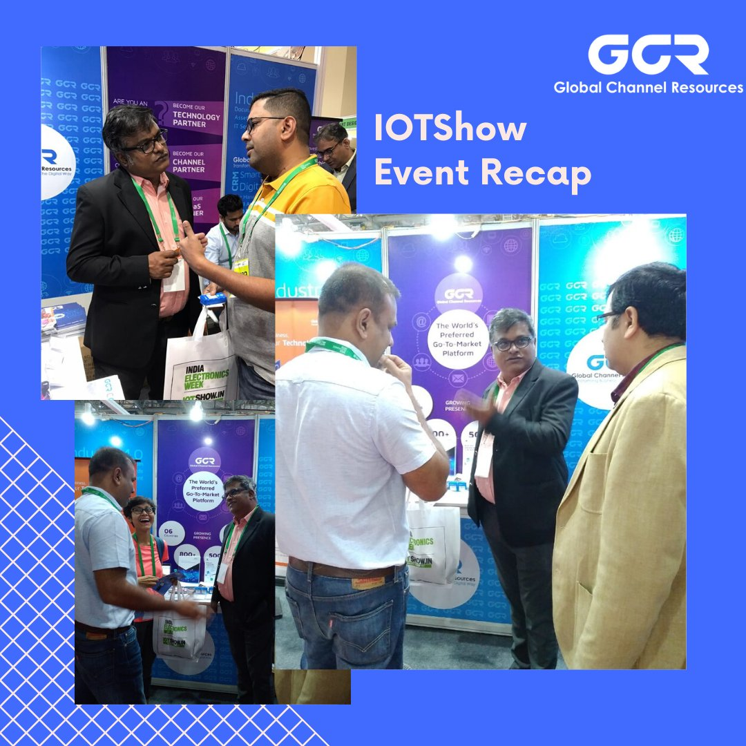 GCR is Thankful to everyone who joined us at IoT Show & India Electronics Week event. #IEW #DigitalTransformation #IoTSolutions #GCRIndia #indiaelectronicsweek #gcr #exhibition #innovation #iew2020 #iotexhibition #iew2020 #bengaluru #iotindustrypic.twitter.com/7wi38M1r70
