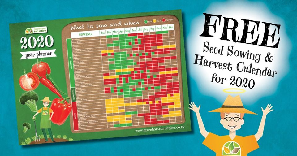 Use our FREE handy seed sowing calendar to plan your seed sowing and harvesting schedule for the new growing season and get ready to enjoy bumper harvests of your favourite food!  Seed Sowing Calendar: http://bit.ly/2DMkzKw  Shop Greenhouse Sensation: http://www.greenhousesensation.co.ukpic.twitter.com/rA5eIHF2du