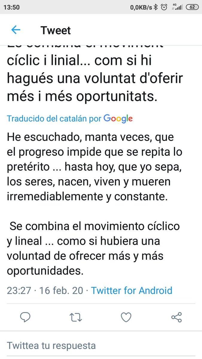 Sin ánimo de generar polémica, sólo a modo informativo. Así nos llega tu mensaje a quienes vivimos en otras comunidades donde no se habla Catalán. ¿Te parece una traducción correcta e inteligible? Lo digo porque si quieres que nos llegue a todos, tal vez puedas añadir la tuya. pic.twitter.com/Oxpck4QAVg