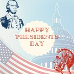 Image for the Tweet beginning: Happy Presidents Day from your